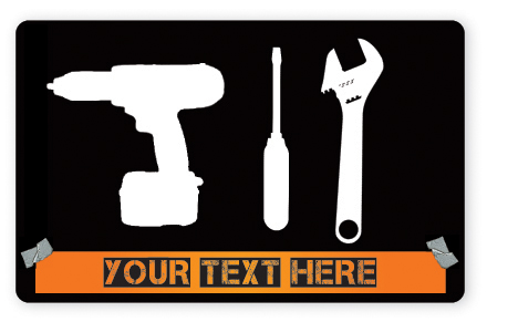 Home improvement gift card design