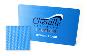 Frosted plastic cards and other finishes plastek cards canvas business card and gift card finish reheart Choice Image