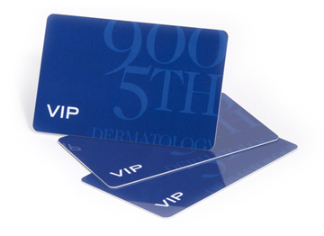 frosted plastic cards and other finishes plastek cards