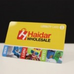 Plastic loyalty card printing options