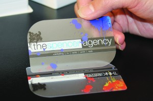 Transparent business cards making a strong impression try a new look with transparent business cards colourmoves