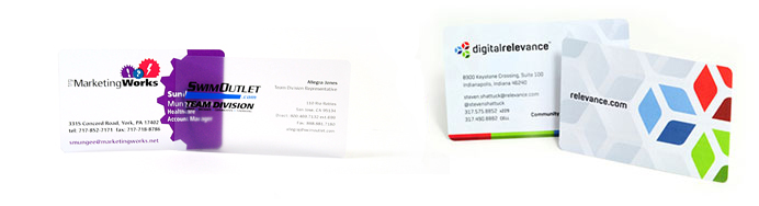 Plastic Business Cards Clear Business Cards