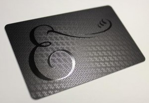 plastek cards raised ink card