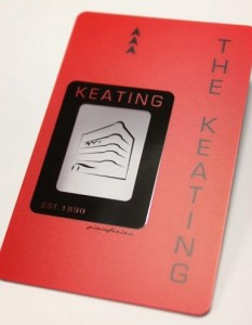 The Keating Hotel Key Card