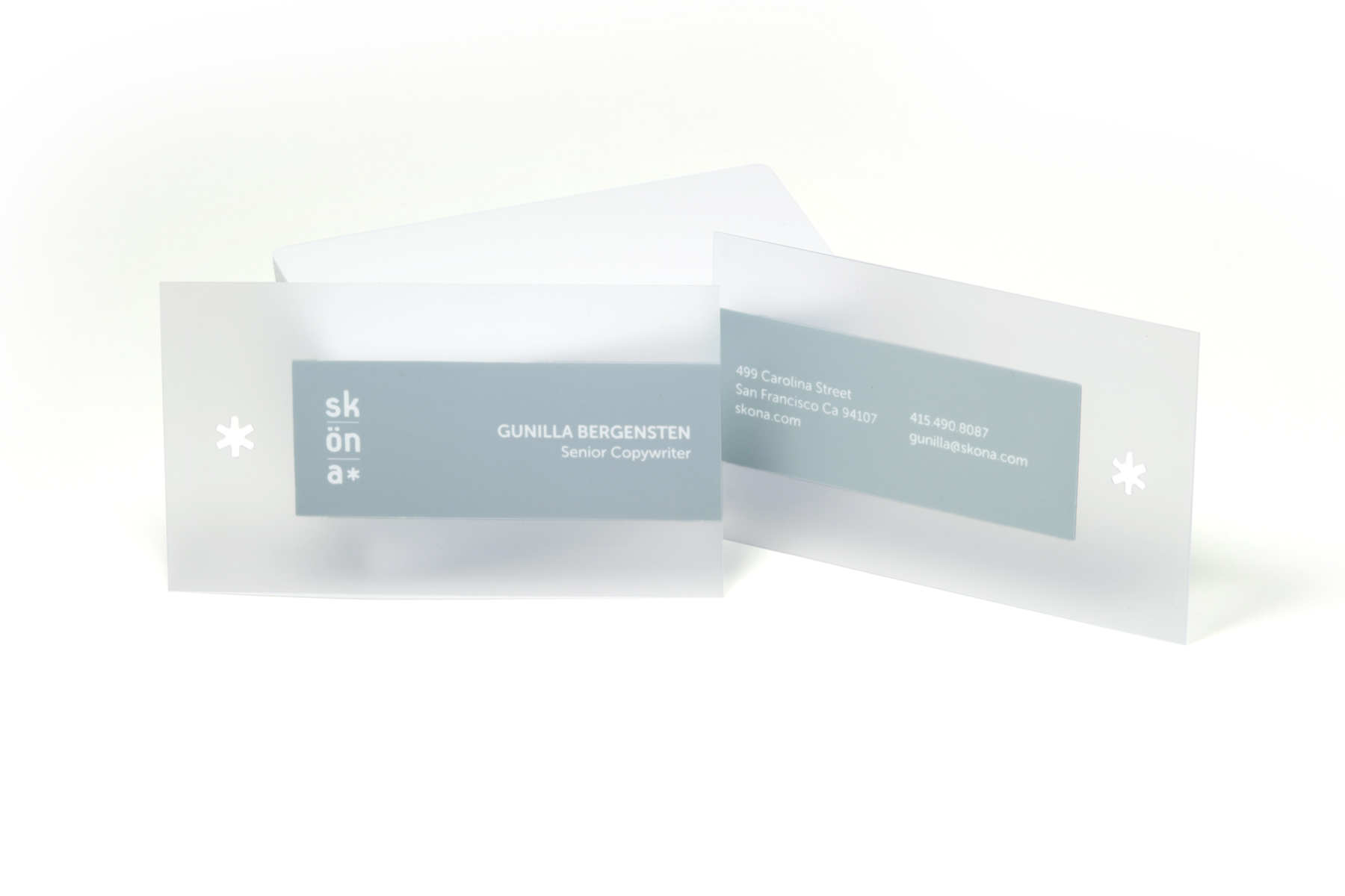 beautiful photograph of plastic business cards business cards