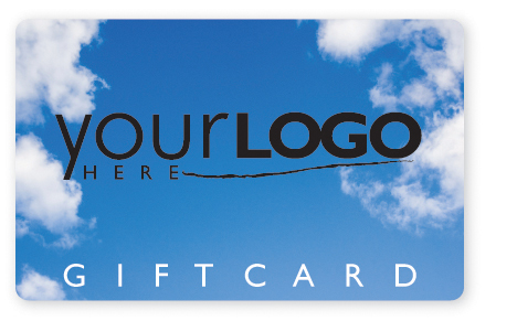 Sky and clouds gift card design
