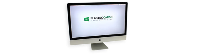 Plastic card design and printing