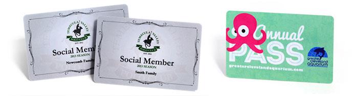 Membership Card Printing  Plastic Membership Cards