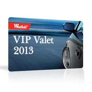 Custom VIP cards made from PVC plastic