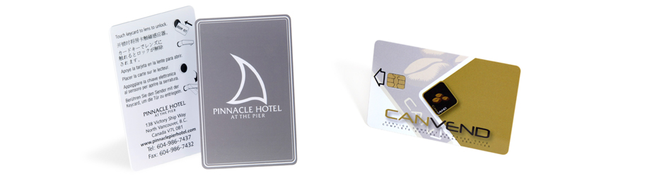 RFID smart cards for hotels and businesses