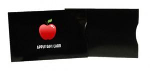 Gift Card Sleeve - Medium Gloss