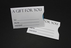 Generic Gift Card Sleeve