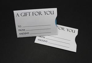 Generic Gift Card Sleeve