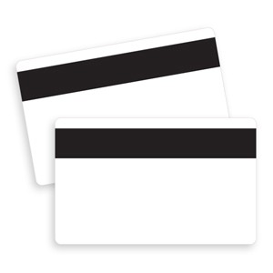 blank cards magnetic stripe - Blank Plastic Cards