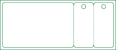 Standard Card with 2 Key Tags