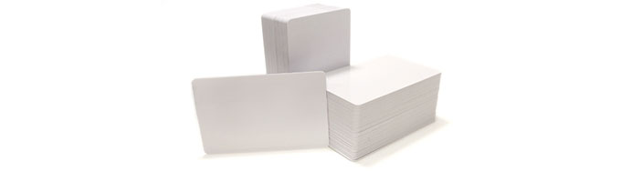 blank cards white pvc - Blank Plastic Cards