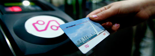 Mass Transit RFID Contactless Smart Card