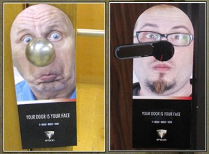 Do Not Disturb Door Hanger - Face