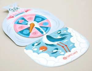 Stork Game Gift Card Packaging