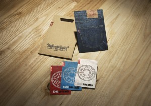 Levis Gift Card Carrier