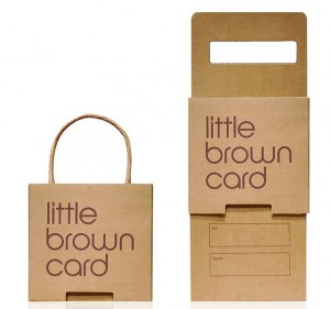 Little Brown Bag Gift Card Package