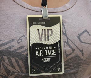 Metal VIP Pass