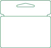 Hanging Card with Tent Slot
