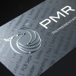 Spot UV Business Card with Foil