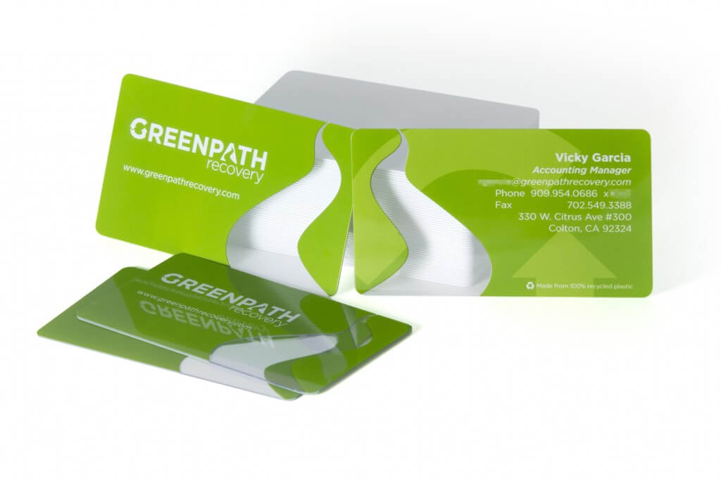 How plastic business cards can boost your brand blog clear plastic business cards reheart Images