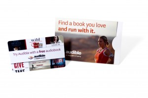 Audible Gift Card Holder