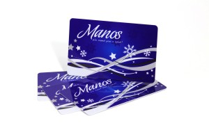 Predesigned gift card design
