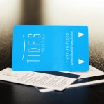 Keycard, Frosted Finish, Magstripe